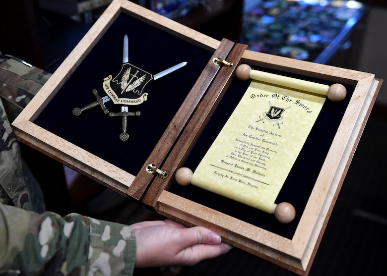 The Order of the Sword invitation