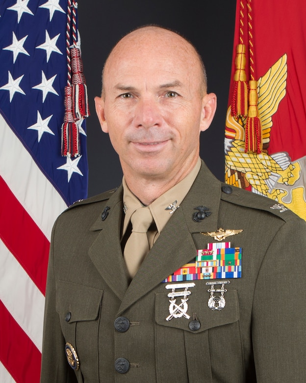 Colonel David M. Steele is the Chief of Staff, 3d Marine Aircraft Wing.