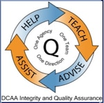 logo of integrity and quality assurance directorate