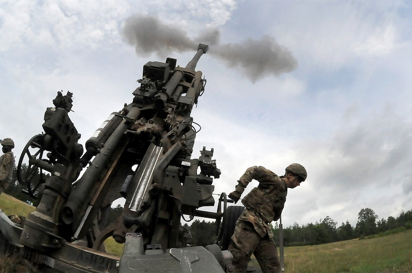 "Northern Strike exercise ""on target' for Michigan Army Guard artillery unit"