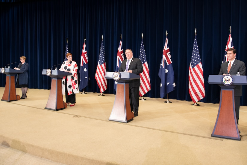 U.S., Australian Officials Reaffirm Strong Alliance
