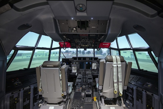 Yokota receives a C-130J Weapons System Training simulator