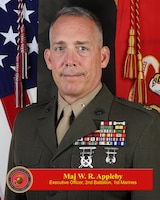 Alternative Text for the Photo of Maj. W. R. Appleby