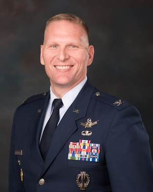 Colonel Jeffrey H. Greenwood is the Space Force liaison at the United States Air Force Academy, Colorado Springs, Colorado. (U.S. Space Force photo)