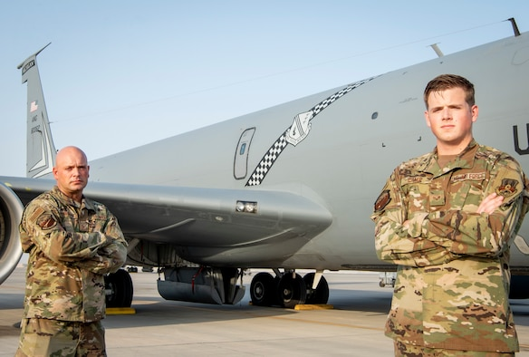For the Love of Aviation: 191st AMXS Father, Son Deploy Together
