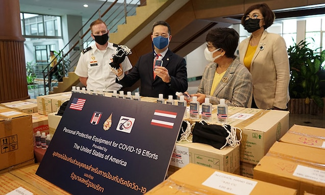 U.S. Provides Coronavirus Disease 2019 (COVID-19) Assistance to Northern Thailand