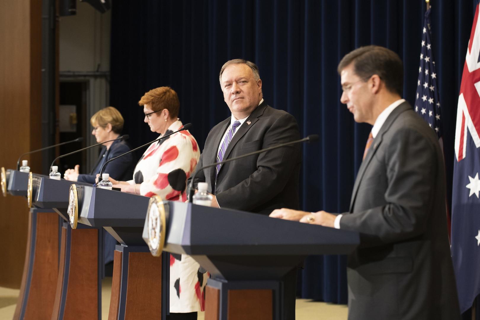 U.S., Australian Officials Reaffirm Strong Alliance