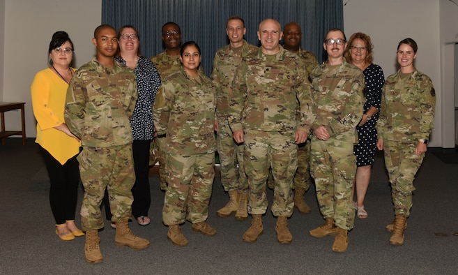 Group photo of the Davis-Monthan Air Force Base Chaplain Corps