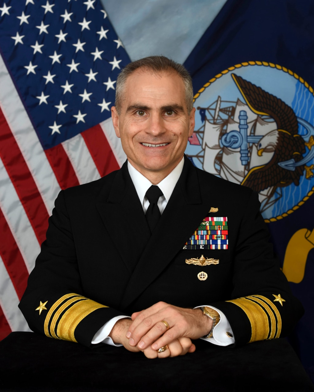 Official Portrait of Vice Adm. Brian B. Brown