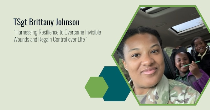"""Reality hit when then Airman First Class Brittany Johnson of the 49th Logistics Readiness Squadron left the hospital in September 2010 after a week-long stay for sexual and physical assault. """"I didn't feel like myself,"""" recalls Johnson, now a Technical Sergeant with the 36th Civil Engineering Squadron. """"I couldn't find joy in activities anymore."""""""