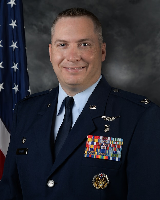 """Colonel Charles """"Scott"""" Hughes took command of the 87th Medical Group during a change of command ceremony on June 25, 2020 at Joint Base McGuire-Dix-Lakehurst, N.J. (Courtesy photo)"""