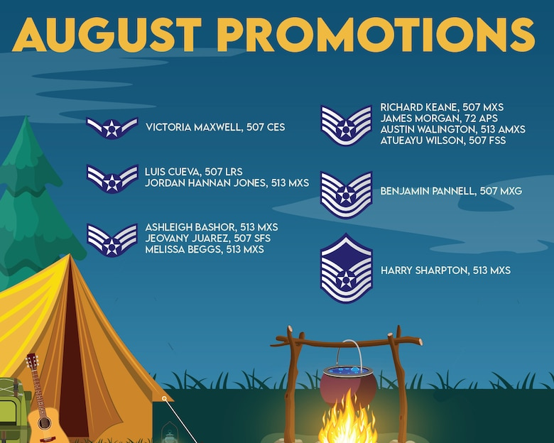 August promotion graphic