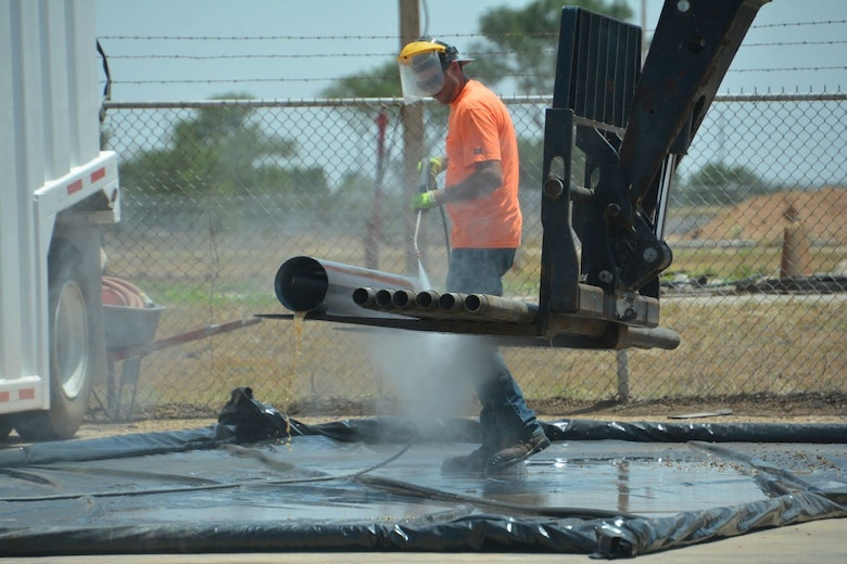 The Air Force Civil Engineer Center began investigative field work in June, for per-and polyfluoroalkyl substances (PFAS) around the former Reese Air Force Base, near Lubbock, Texas.