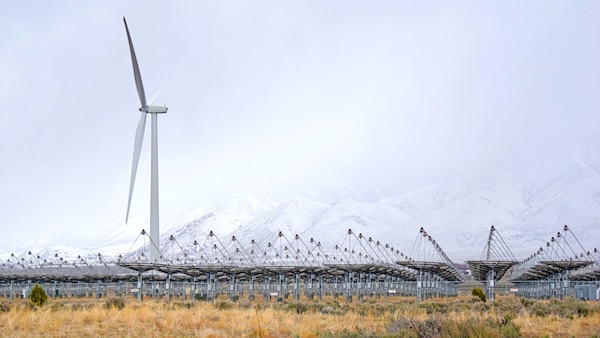In their efforts to increase energy efficiency and resiliency at installations worldwide, Resource Efficiency Managers explore the latest in renewable technologies, such as this wind turbine at Tooele Army Depot in Utah. (U.S. Army photo by John Prettyman/released)