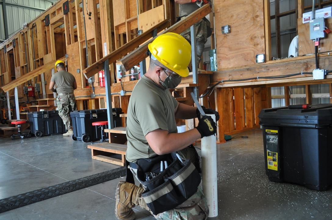 4960th Multifunctional Training Brigade conducts engineer course amid pandemic and hurricane