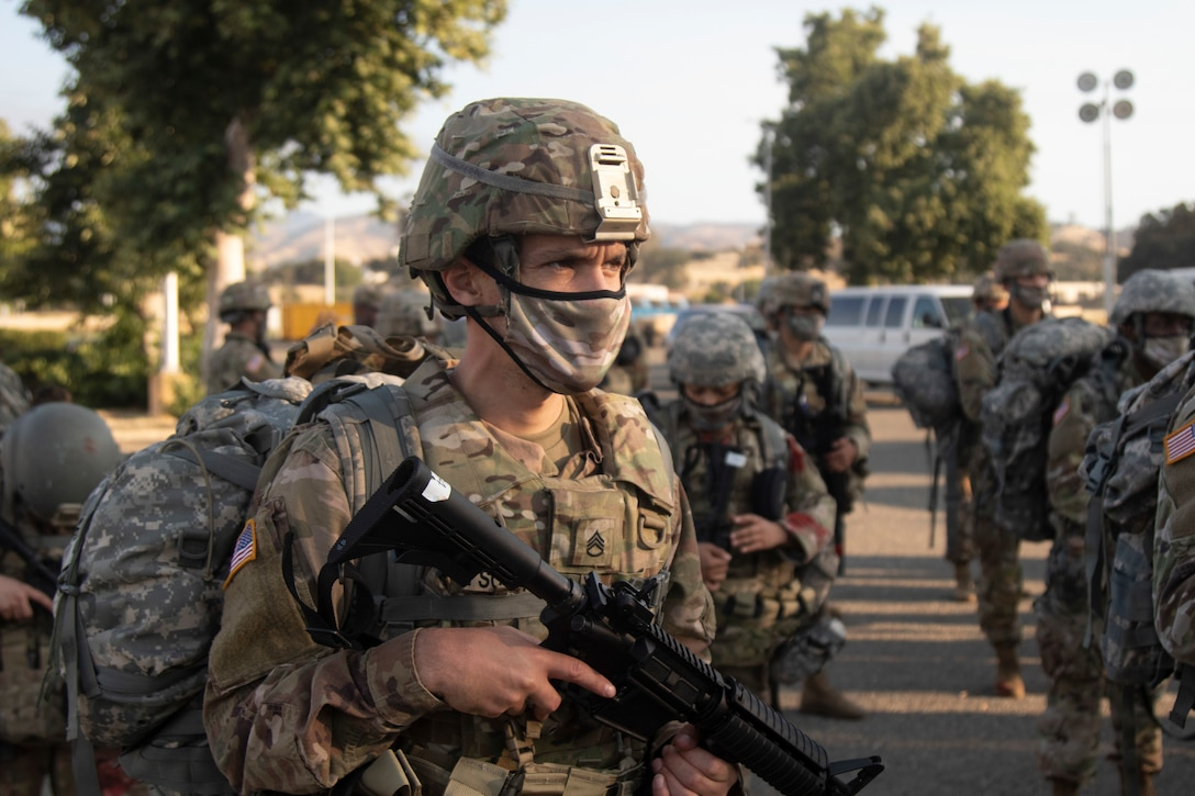 79th TSC Best Warrior/Top Squad/Top Junior Officer competition 2020