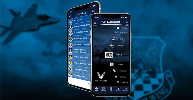 419th Fighter Wing joins the Air Force Connect mobile app