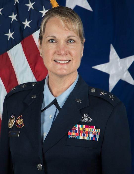This is the official portrait of Maj. Gen. Dawne L. Deskins.