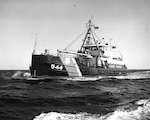 A photo of the Coast Guard tender WHITE SAGE