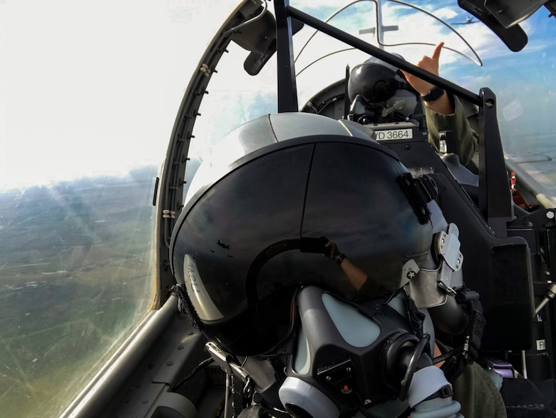 First Assignment Instructor Pilots fly a training mission