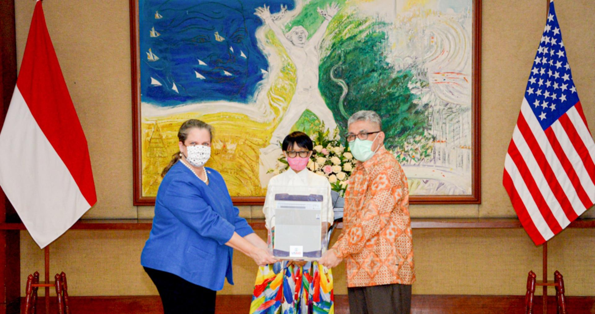U.S. Provides Ventilators to Indonesia to Battle COVID-19