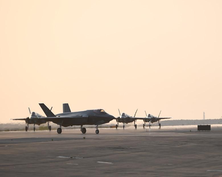 F-35 arrival ADAB