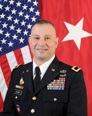 Brig. Gen. Ernest Litynski, Commanding General, 85th U.S. Army Reserve Support Command