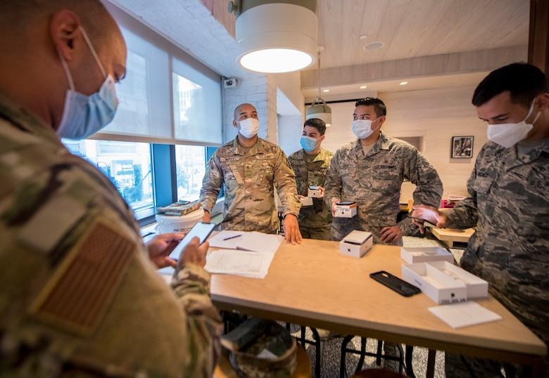 CRW Airmen aid Reserve medics combatting COVID-19 hotspots