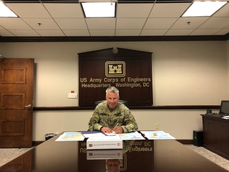 Lt. Gen. Todd T. Semonite, USACE Commanding General and 54th U.S. Army Chief of Engineers, recently signed the Hudson Raritan Estuary Ecosystem Restoration Study Chief's Report