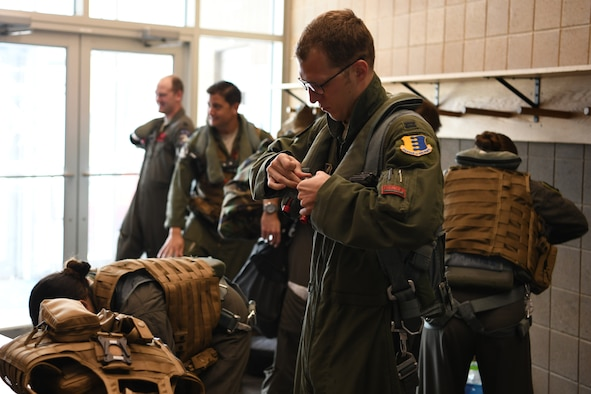aircrew don equipment