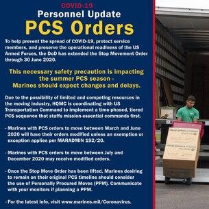 PCS Orders
