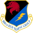 800th RED HORSE Group emblem