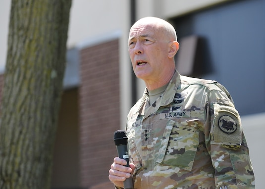 Lt. Gen. Luckey at JBMDL