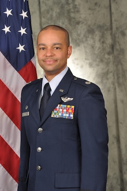 Official photo of Lieutenant Colonel Dameion Briggs in service dress uniform.