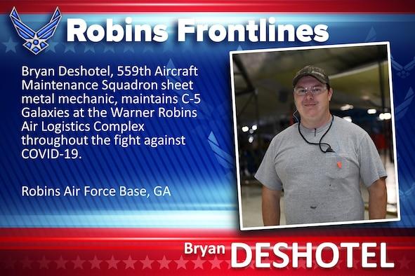 Robins Frontlines: Bryan Deshotel