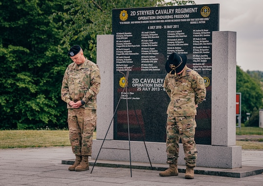 2CR honors its fallen heroes during Memorial Day