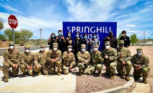 150th Security Forces Squadron Supports New Mexico National Guard Joint Task Force COVID