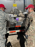 210th RED HORSE Squadron supply and test water to New Mexico communities