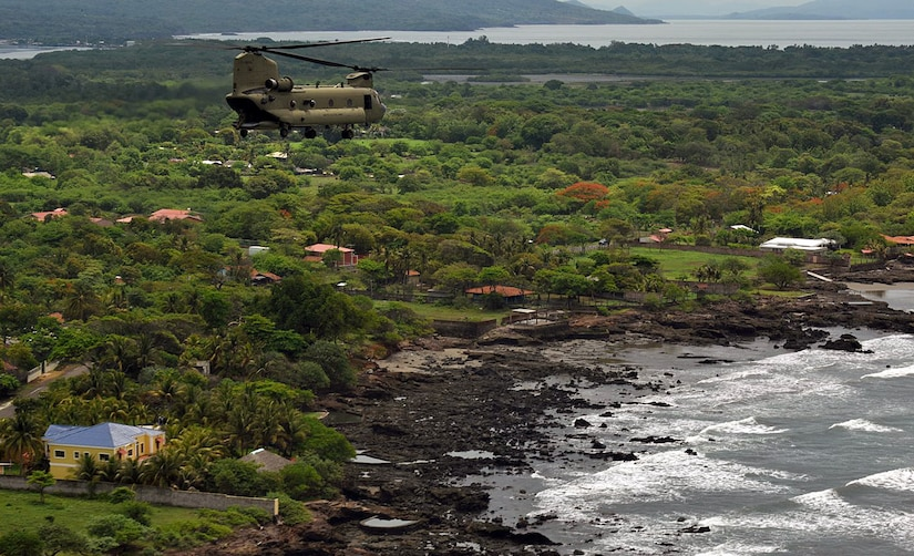 Soldiers in helicopters