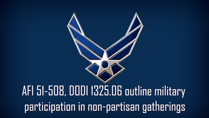blue graphic with Air Force wings logo