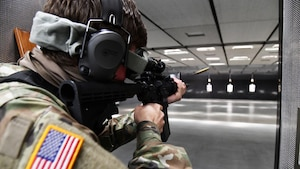 18th Military Police Detachment Marksmanship Training