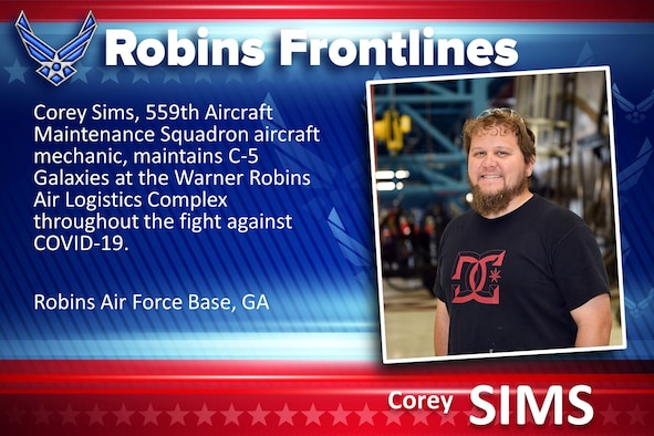 Robins Fronelines: Corey Sims