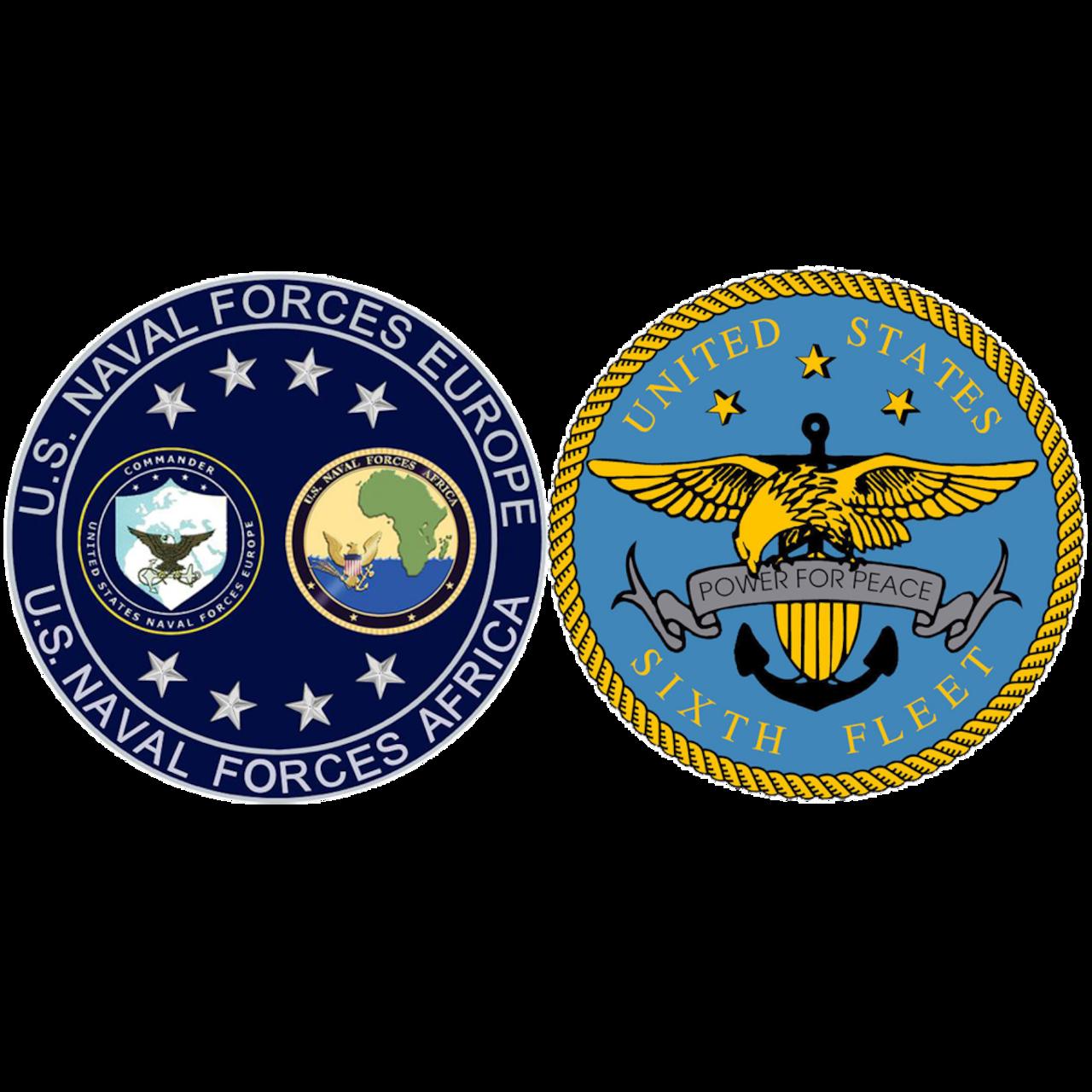 U.S. Naval Forces Europe and Africa/U.S. Sixth Fleet Logo