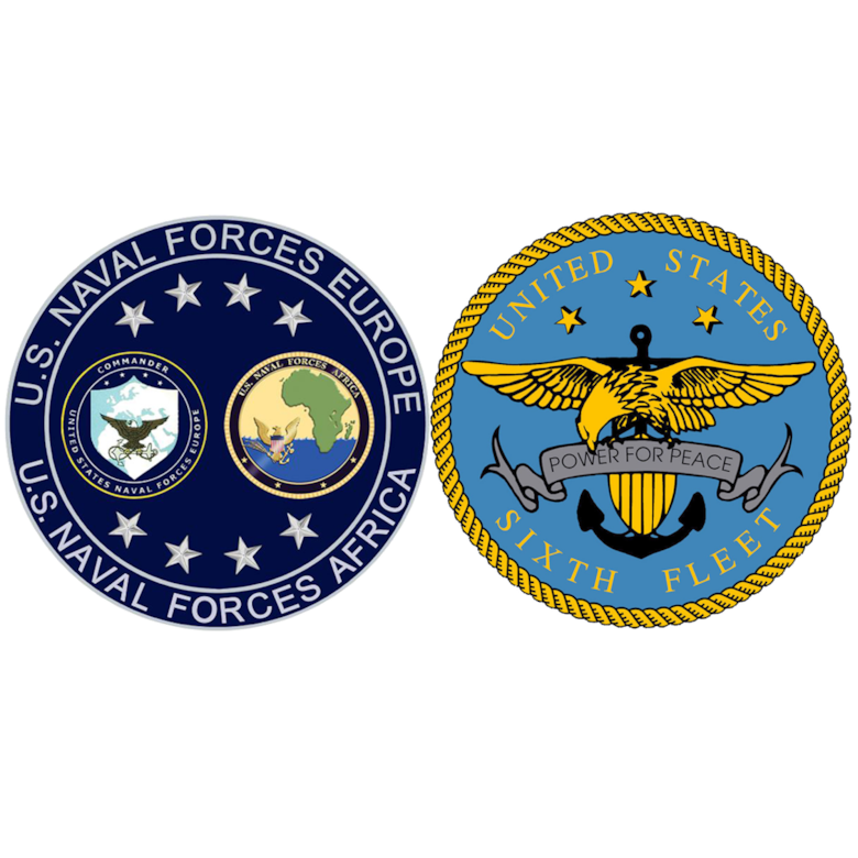 U.S. Naval Forces Europe and Africa/U.S. Sixth Fleet Logo