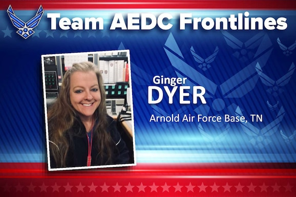 Ginger Dyer (U.S. Air Force graphic)