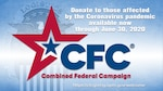 CFC logo with text: Donate to those affected by the Coronavirus pandemic available now through June 30, 2020