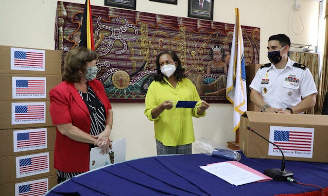 U.S. Embassy Dili provides Timorese-made Reusable Masks to Help Thousands of Children Safely Return to School