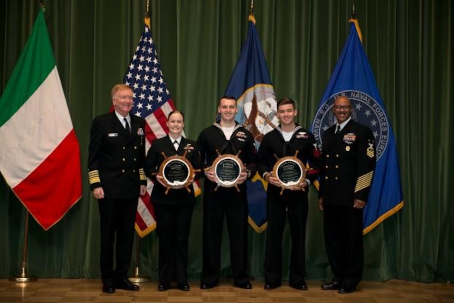 U.S. Naval Forces Europe-Africa Names Sailor of the Year