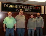 DLA Distribution Tobyhanna Pennsylvania Quality Assurance team awarded the Andrew L Leitzel team award