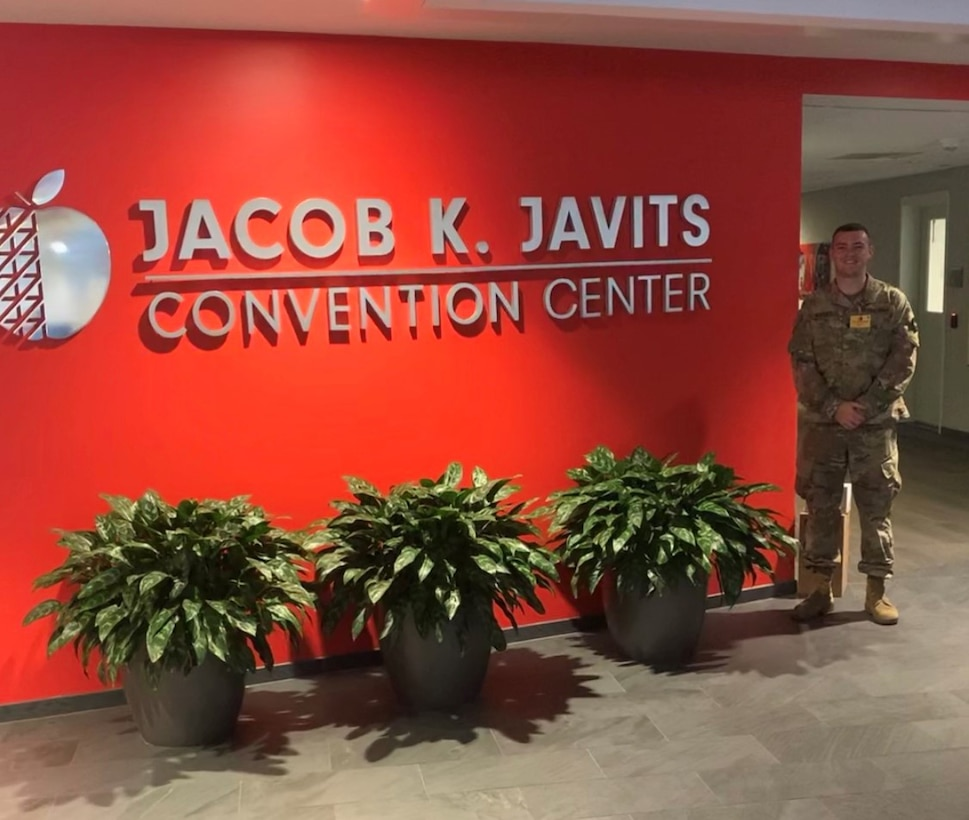 Boston University Student and Army Reserve Soldier participates in NYC COVID-19 response